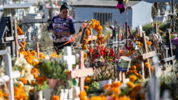 Mexicans Celebrate The Traditional Day of The Dead Amid Coronavirus Pandemic