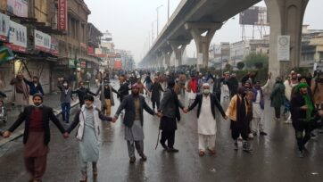 March in Pakistan