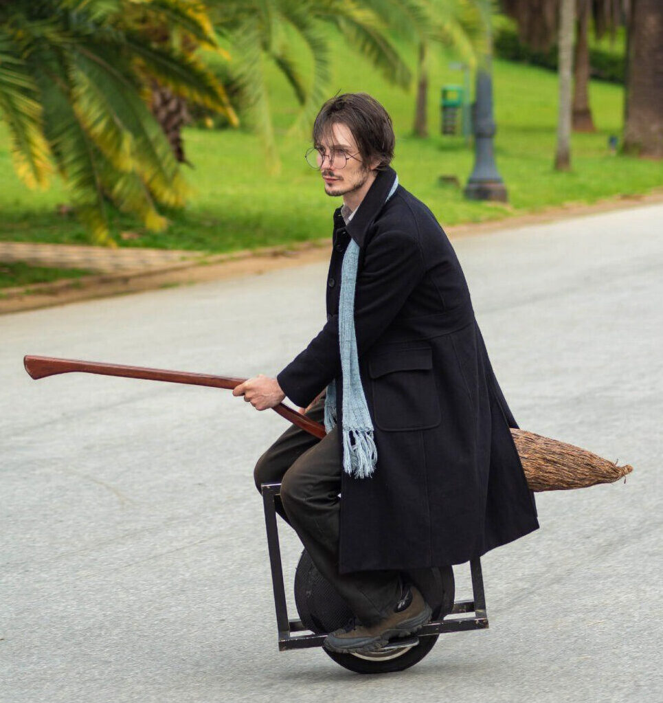 Vroom With A View: Harry Potter Fans Invent Motorized Broomsticks
