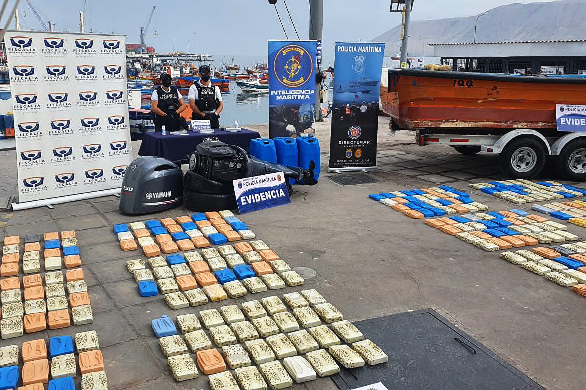 Chilean Navy Nets its Largest Drug Haul—a Half-Ton of Cocaine