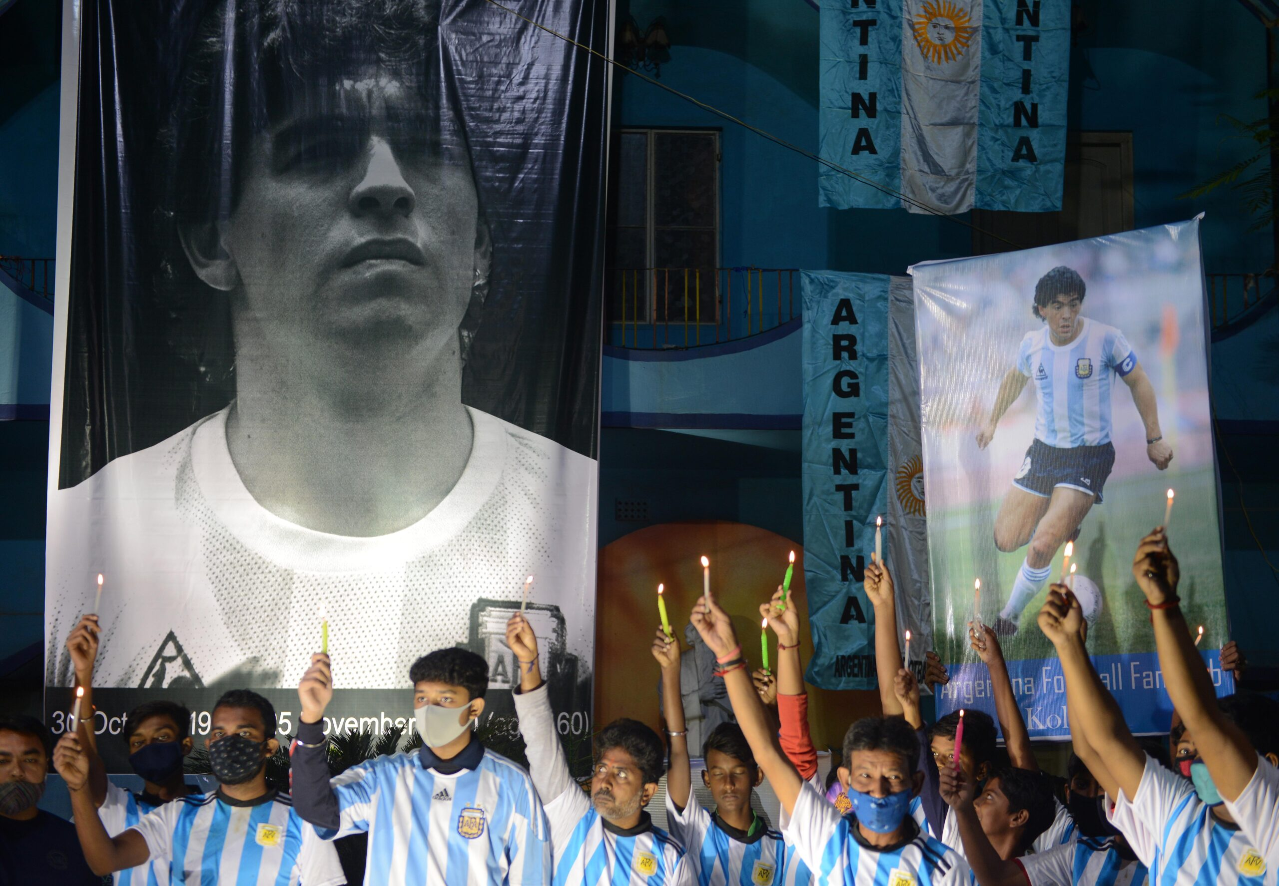 'Mecca of Indian Football' Mourns Maradona