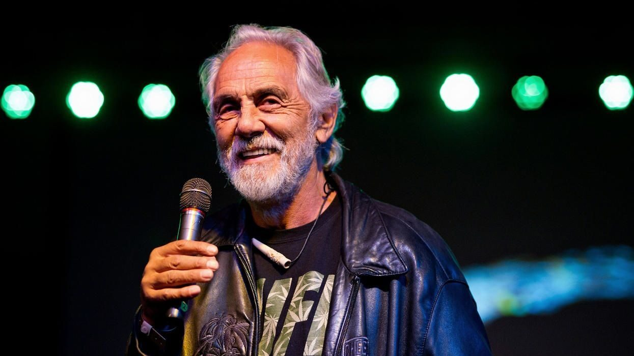 Tommy Chong Looks To Expand Cannabis Brand To Europe, Hints At Another Cheech & Chong Project