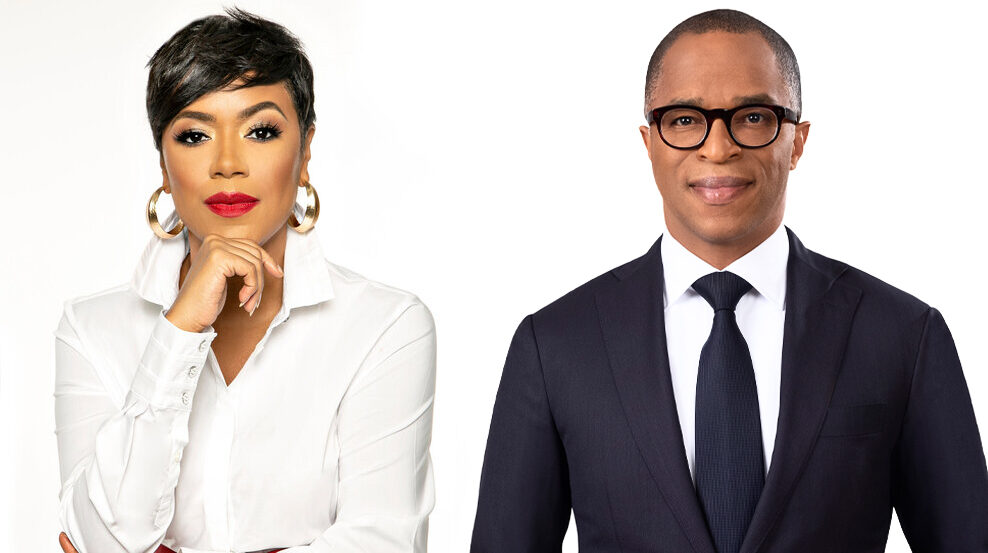 MSNBC Primes Pump on Diversity with First All-Black Anchor Duo
