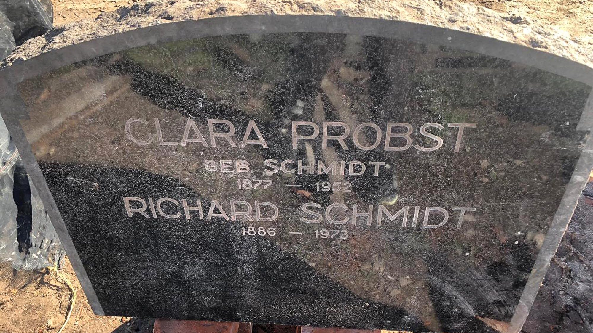 Tombstone of Argentinean Nazi Party Leader Unearthed Under House