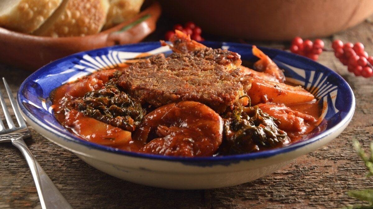 Romeritos, a Healthy Christmas Stew