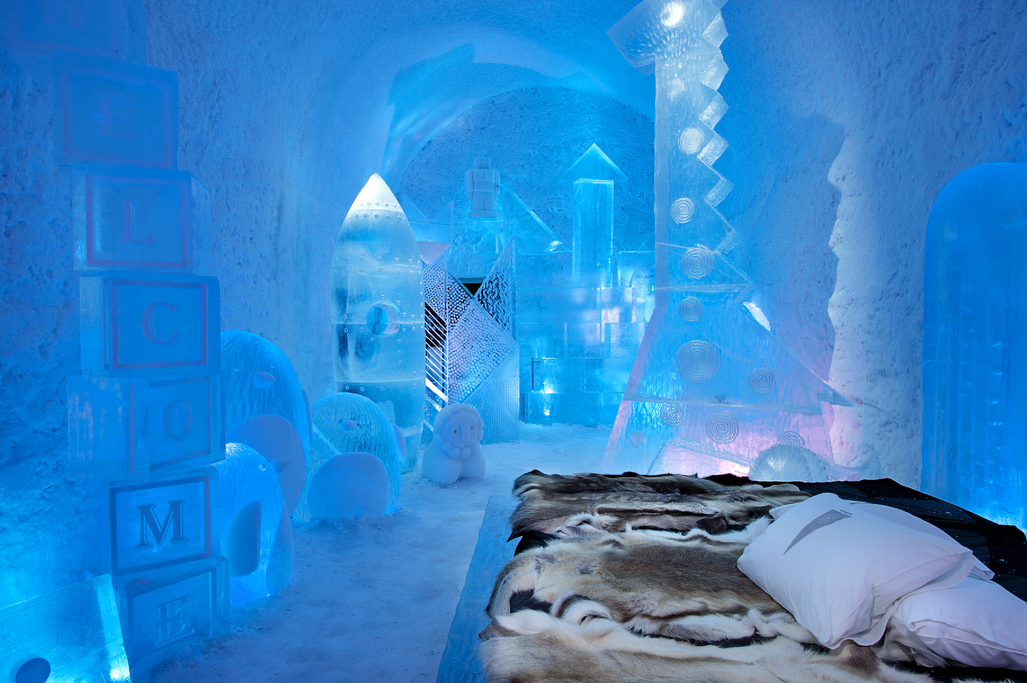 Lap of Luxury: Cool Ice Hotel Opens in Lapland