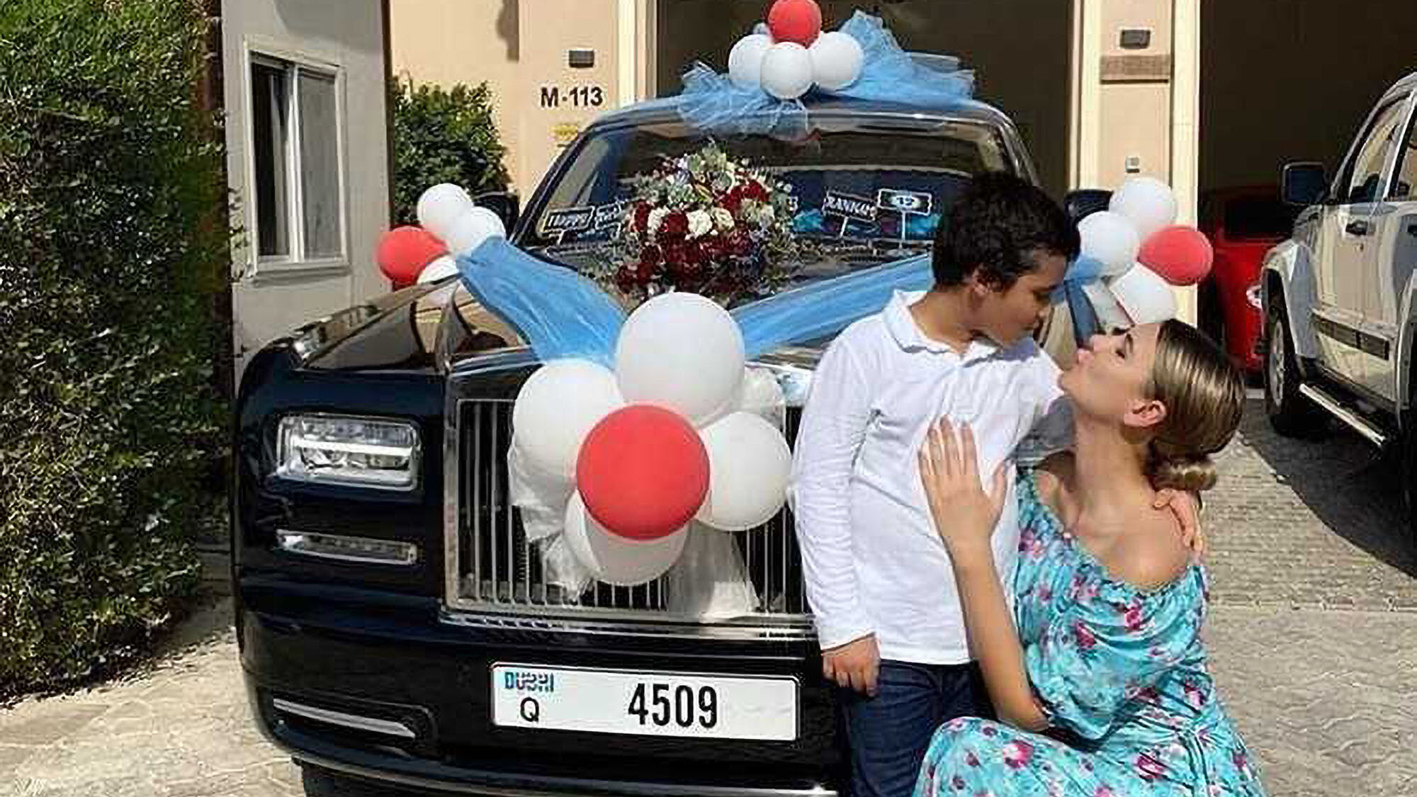 VIDEO: Millionaire Mom Gives 12-Year-Old a Rolls-Royce for Birthday