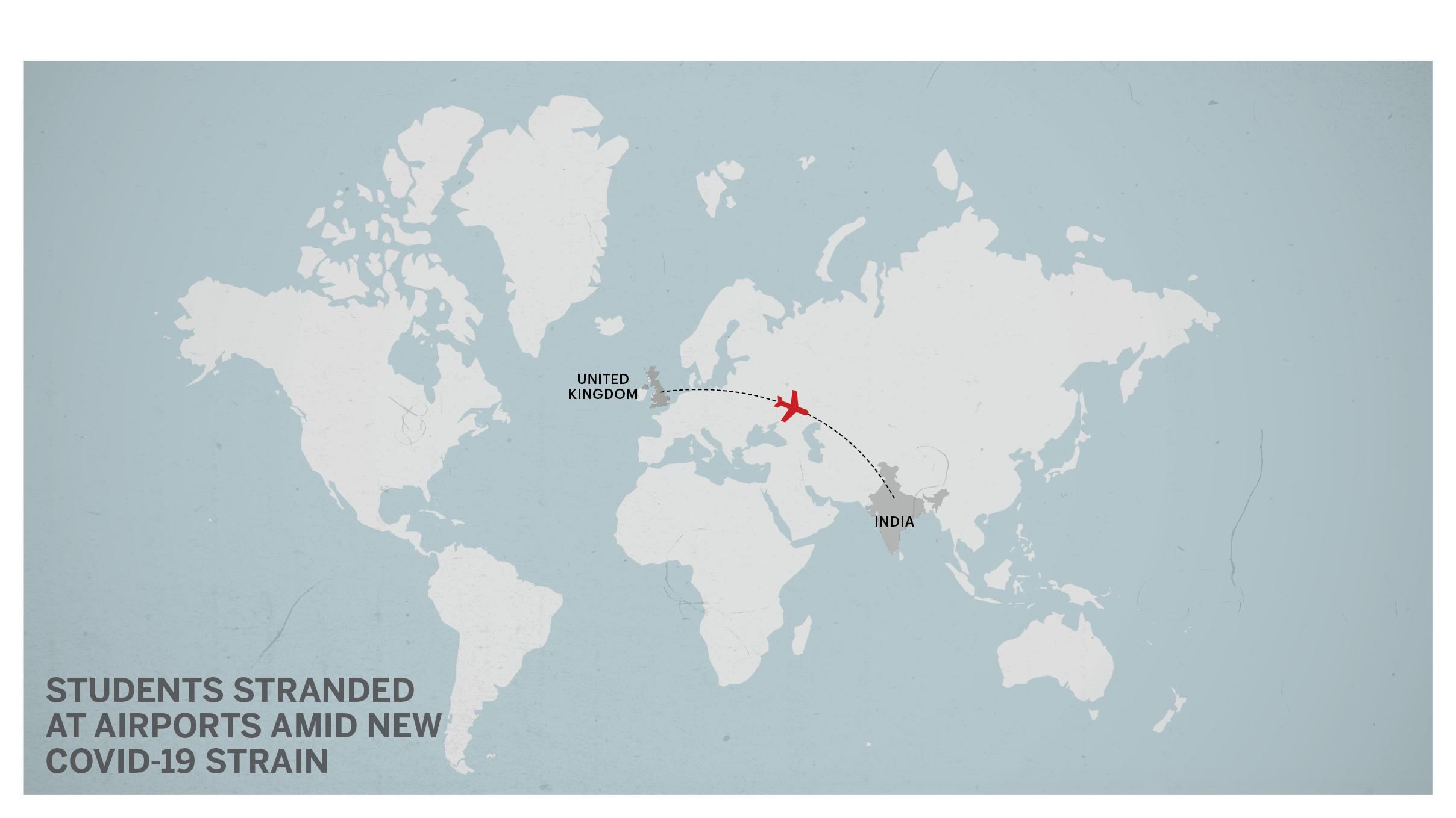 UK India Map