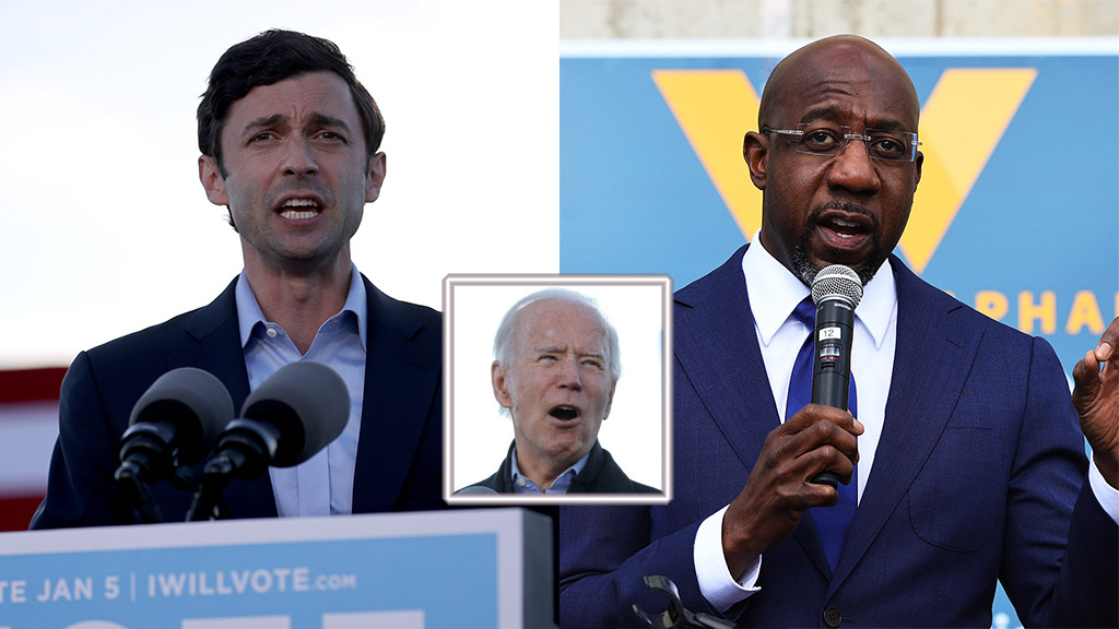 With Senate Wins in Georgia, Biden to Take Office While Democrats Control All of Congress