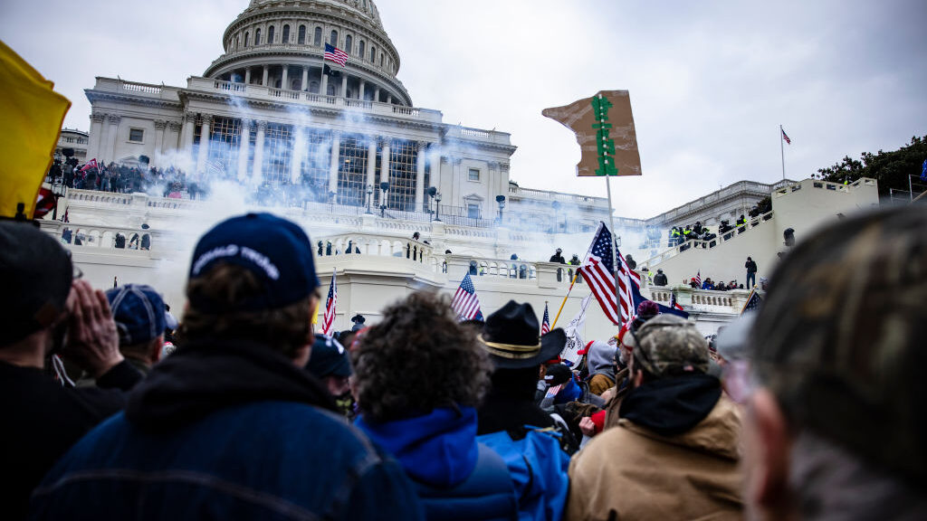 War Zone in D.C.: Angry Pro-Trump Protesters Storm U.S. Capitol and Disrupt Electoral Vote Counting