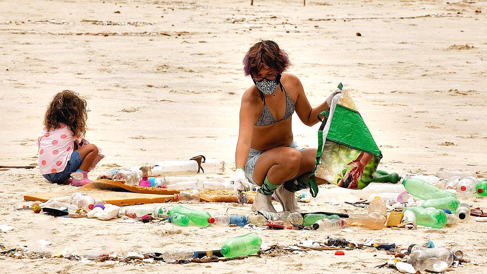 VIDEO: Waves of Rubbish Lap Against Idyllic Brazil Beach After Storm
