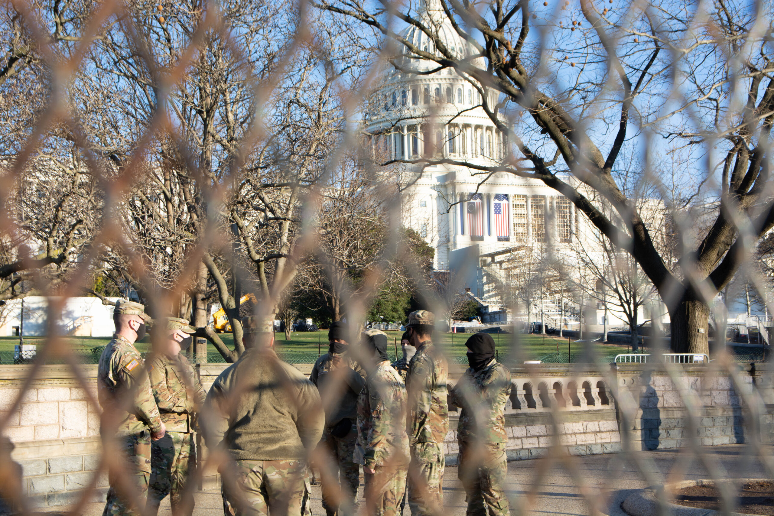 VIDEO: New Security State Headed to Washington Following Deadly U.S. Capitol Siege