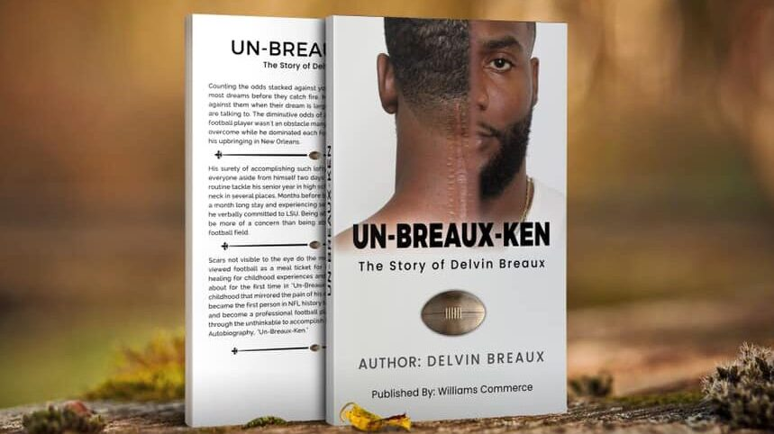 Recovering from a Broken Neck, Delvin Breaux Skipped College Football but Played in the NFL
