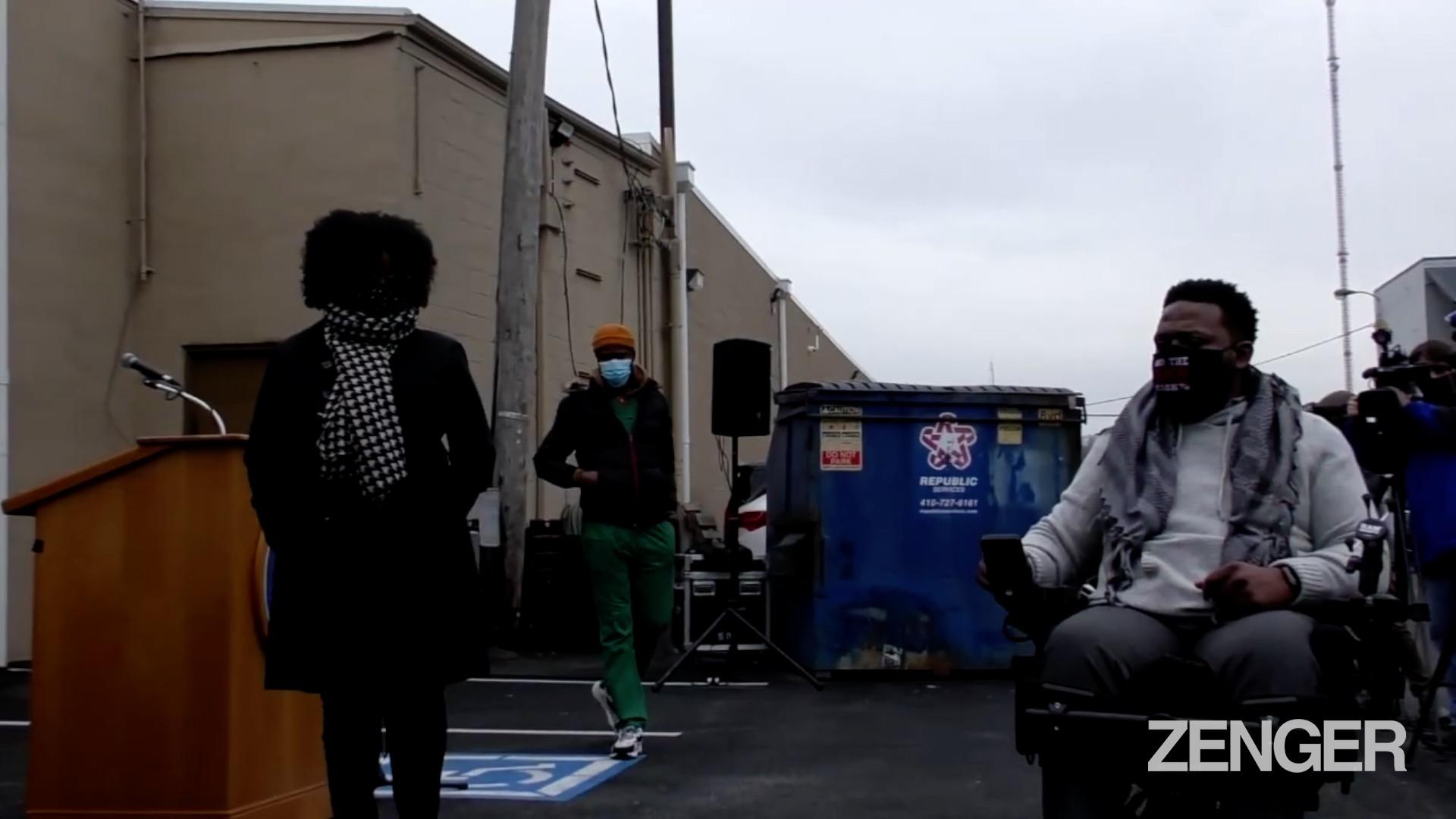 Hi-Tech Wheelchair Accessible Van for Baltimore's Hero Cop