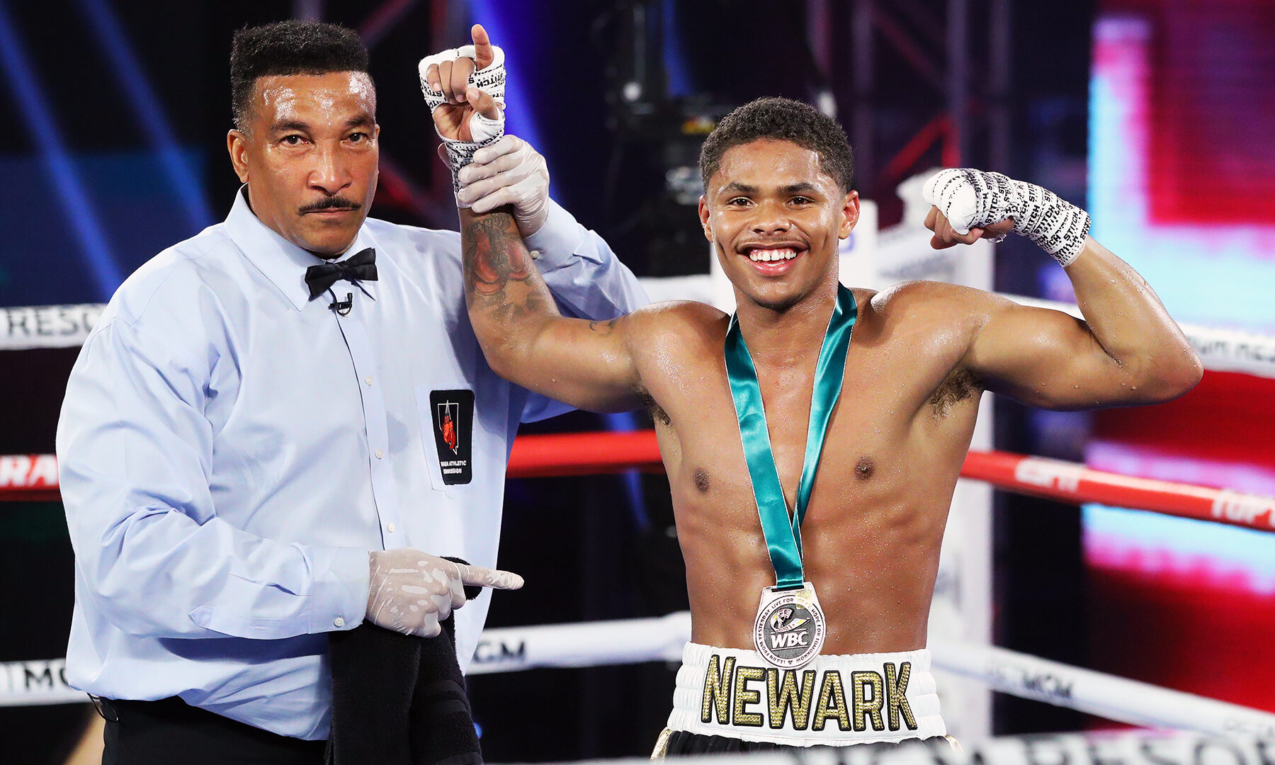 Boxer Shakur Stevenson Comes Out Swinging At 130 Pounds