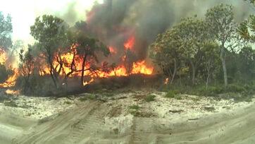 VIDEO: Bushfire Heroes Make 24-Hour-Stand