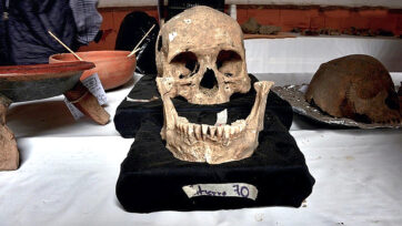 Mexican Archeologists Continue Research On Ancient Human Remains