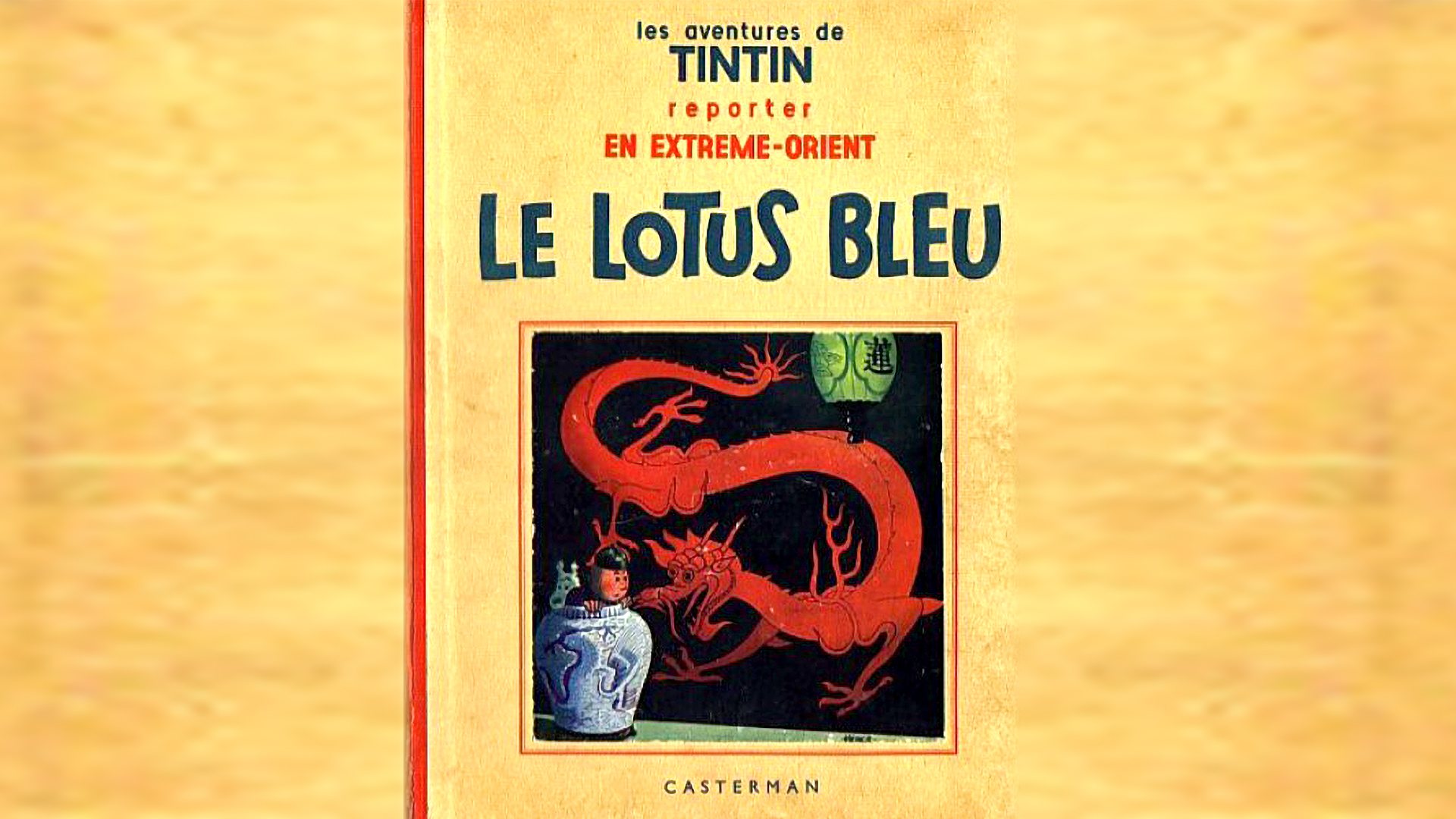 Rare Tintin Artwork Sells For $3.2 Million