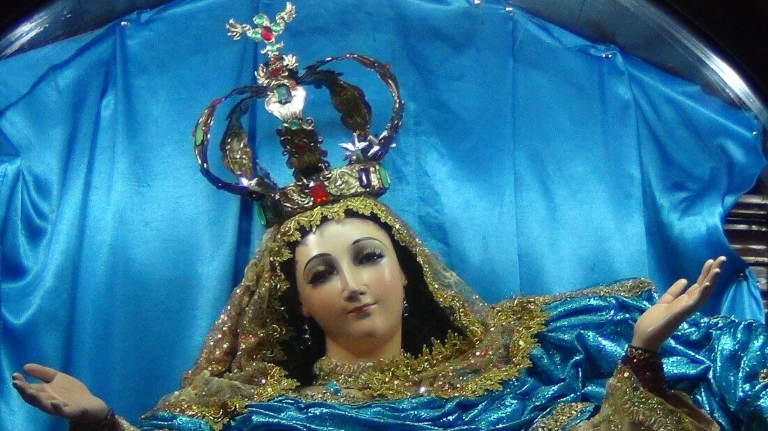Nicaraguans Pay Tribute To The Virgin Of The Burned Toe