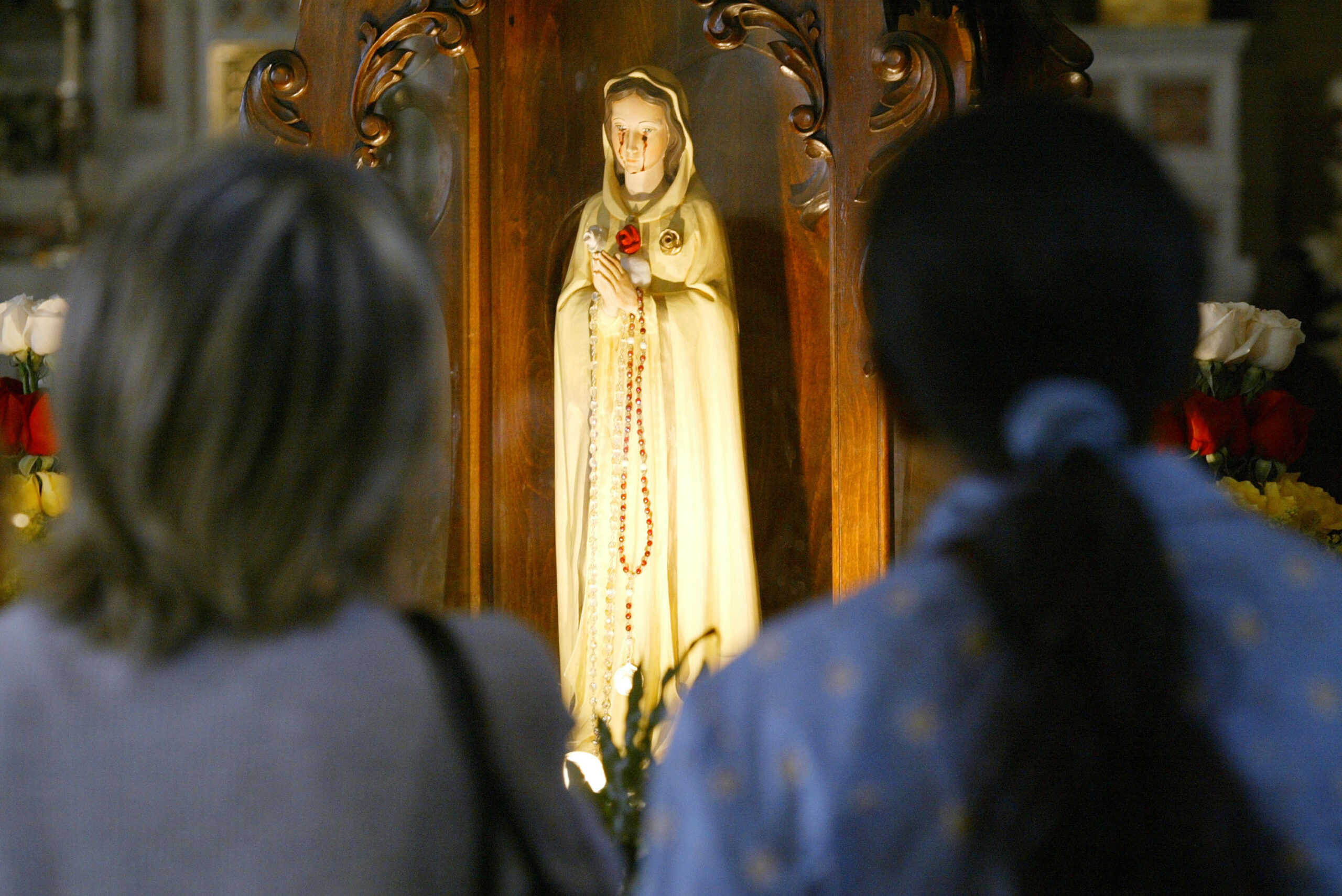 Solving the Mystery of Virgin Mary Statues That Appear to Cry