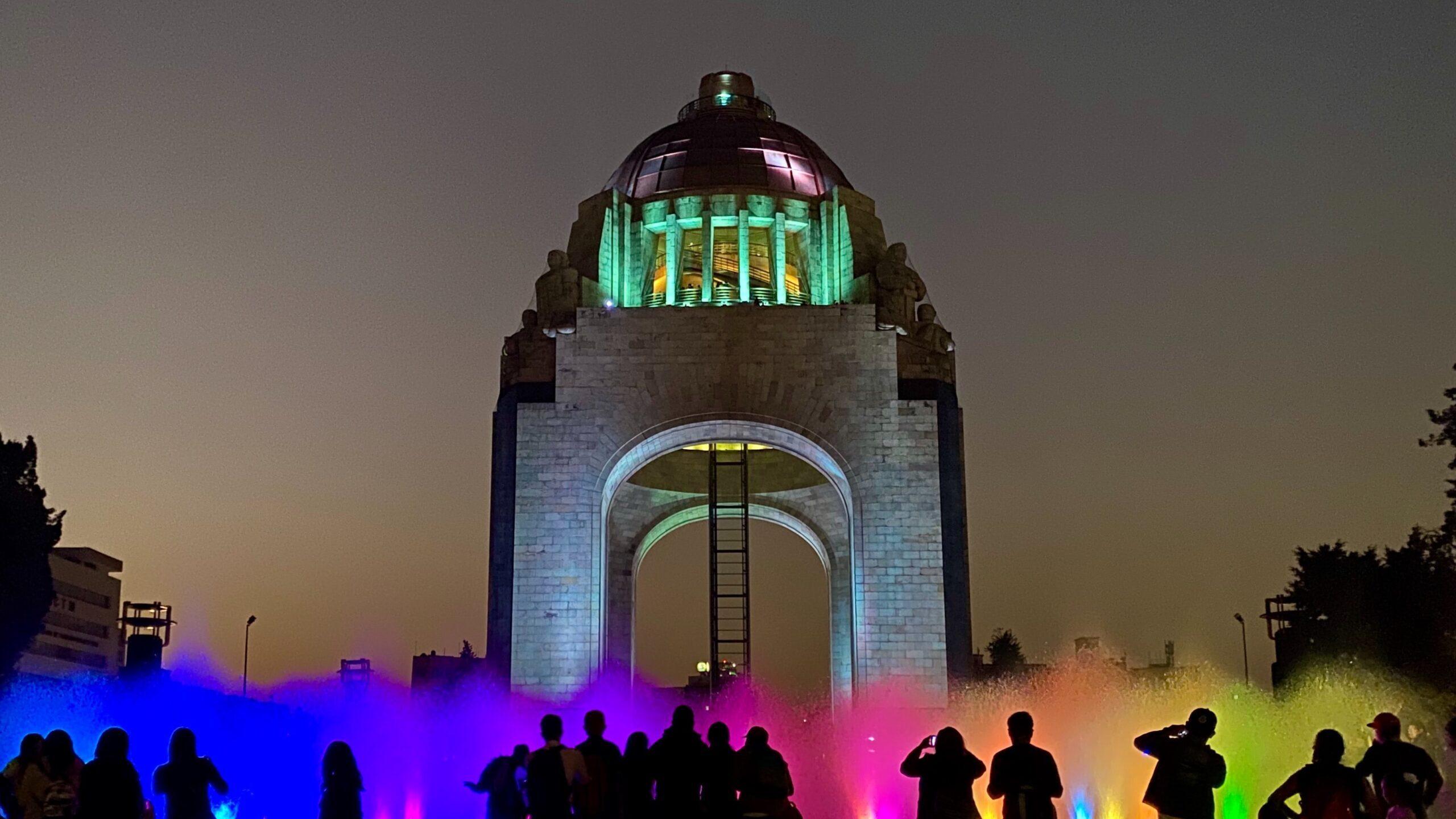 El monumento a la Revolución: Un plan que se adaptó a la situación