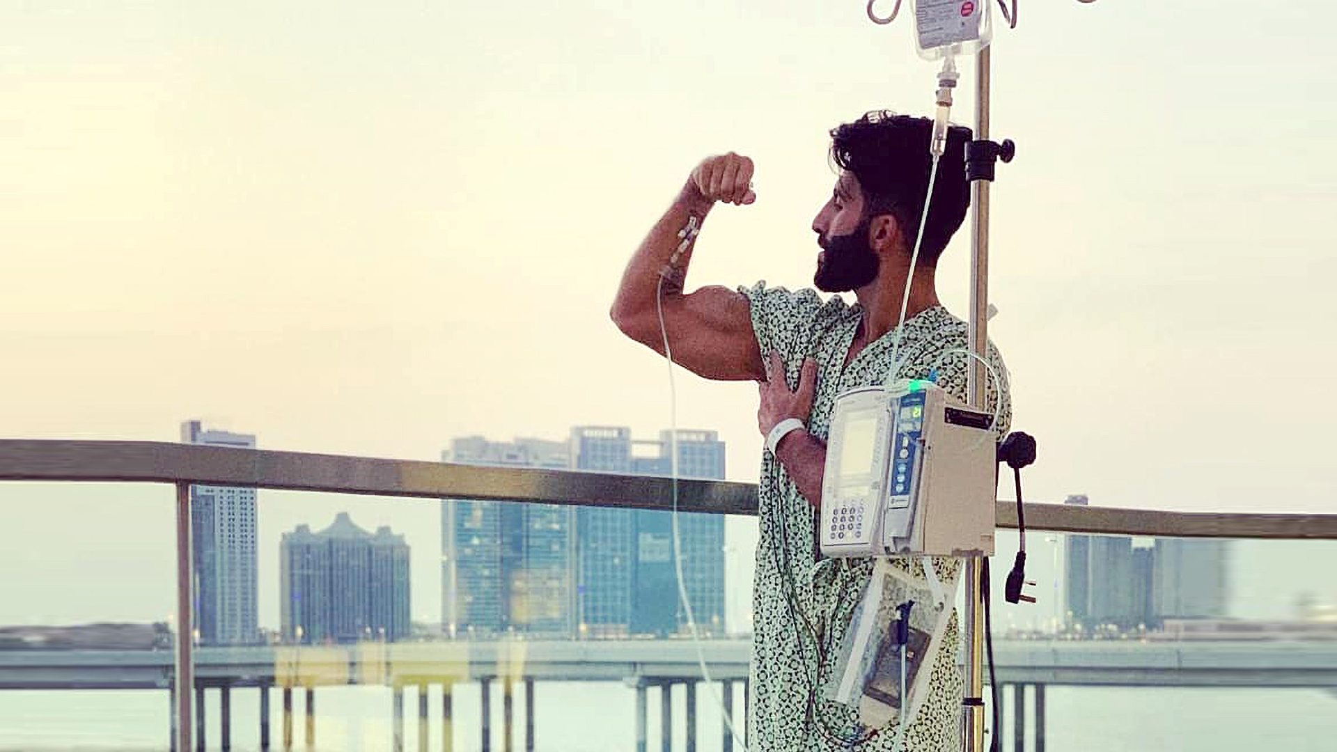 Iron Man: Dubai Man Continues Lifting Weight With Artificial Heart Pump