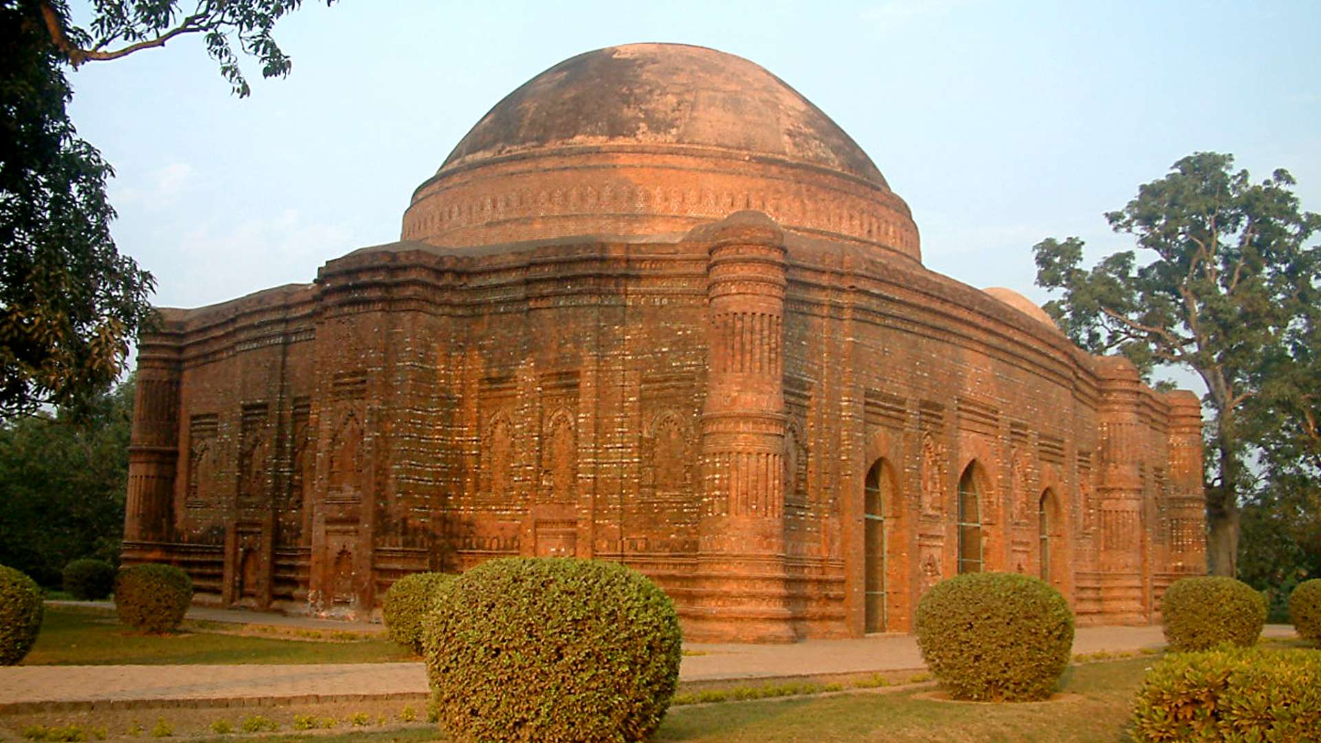 The Terracotta Mosques Of Bengal