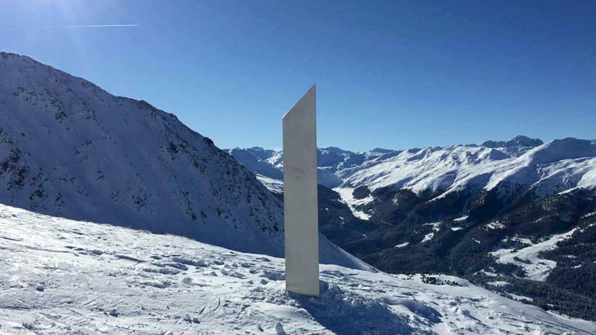 Mysterious monolith appears in Austrian ski area - Zenger News