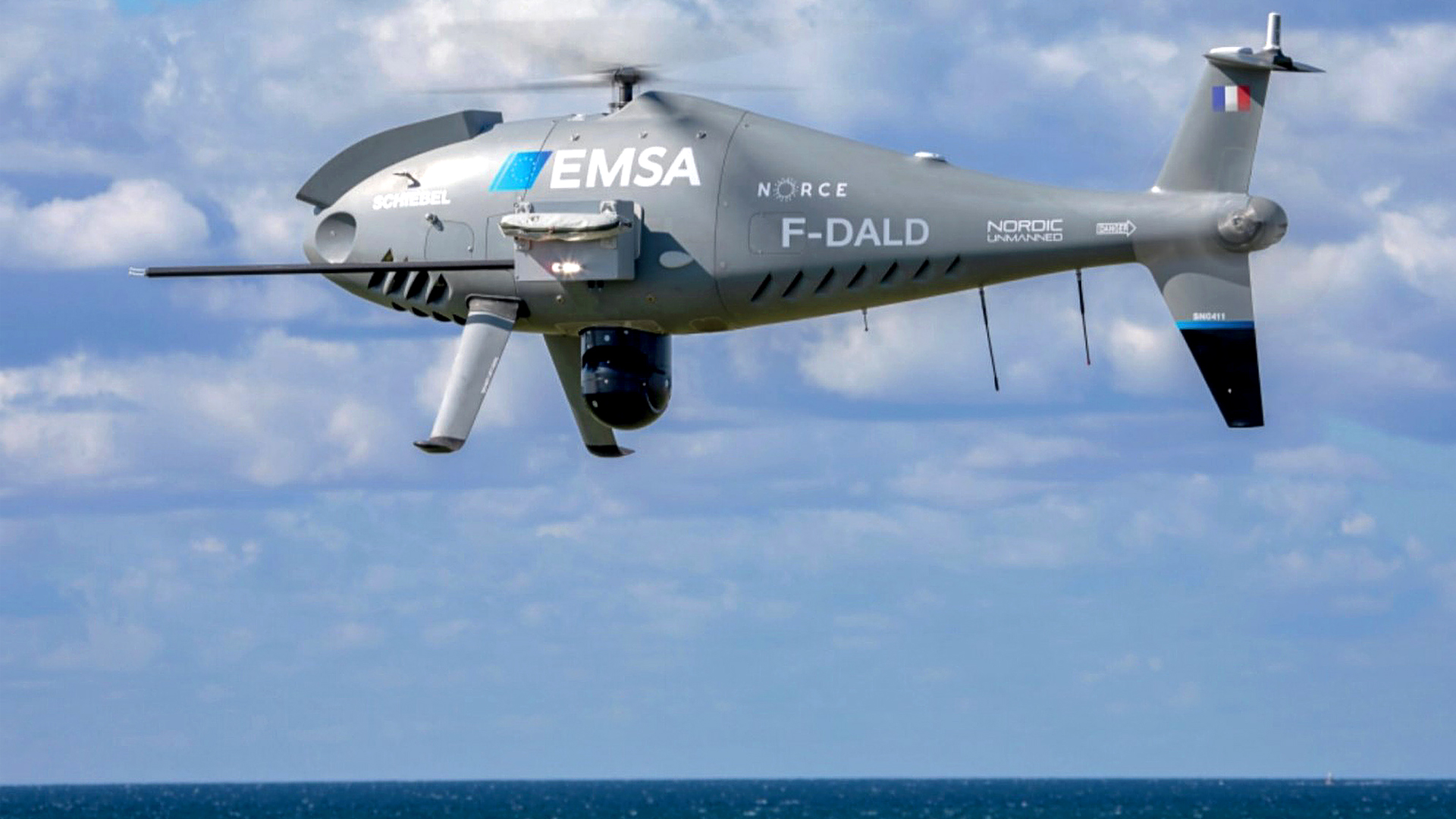 French Drones Used to Spot Polluter Ships in the English Channel