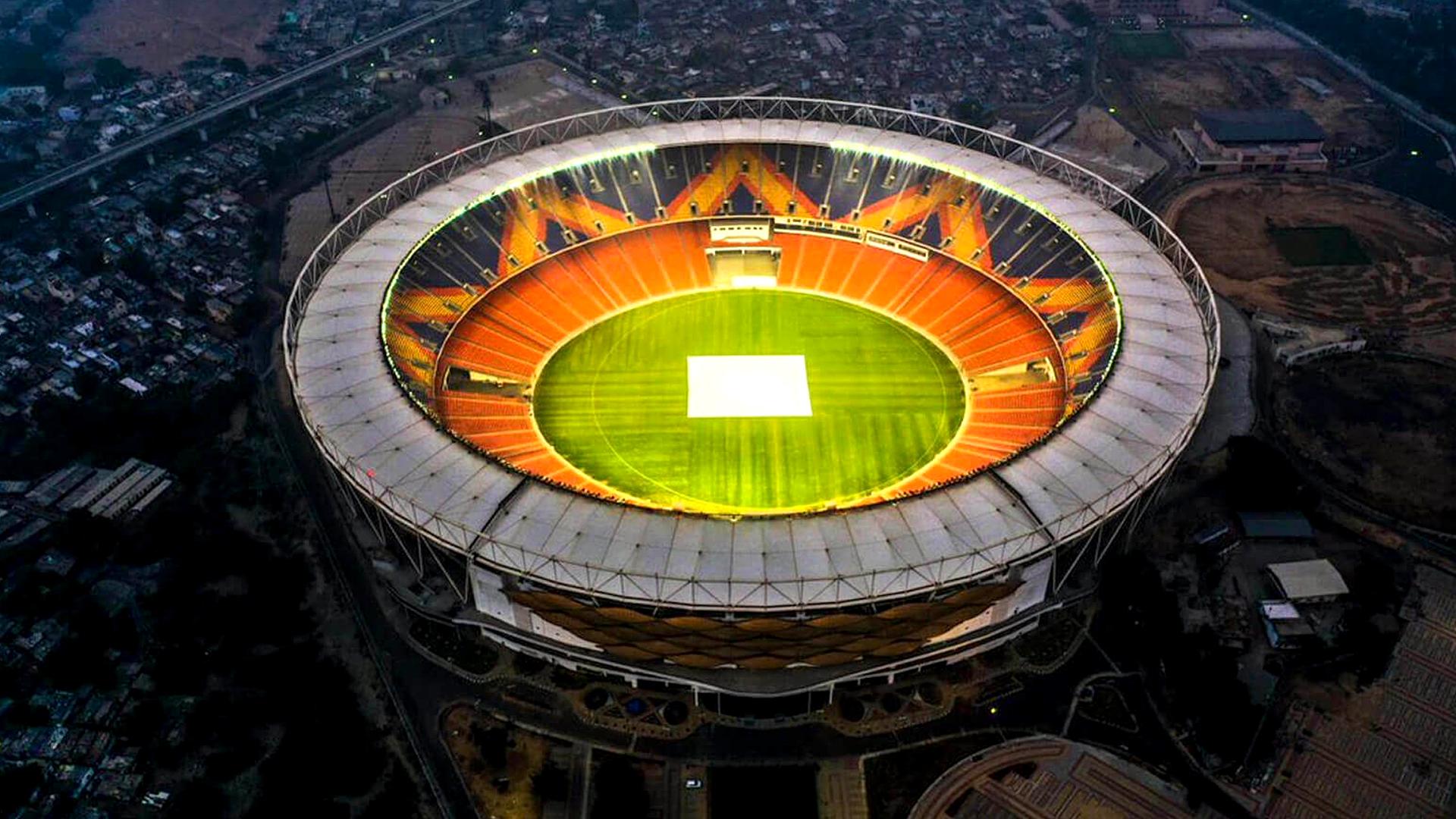 Ducks, Spider-Man, And Political Barbs At World's Largest Cricket Stadium