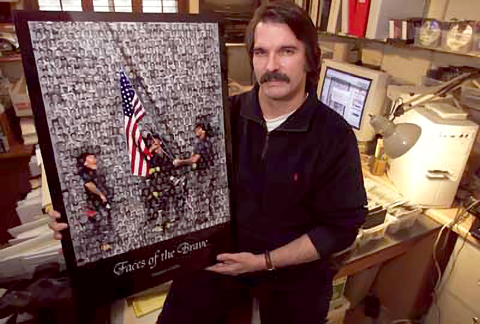 Creator of 9/11 Faces of the Brave Tribute Passes Away
