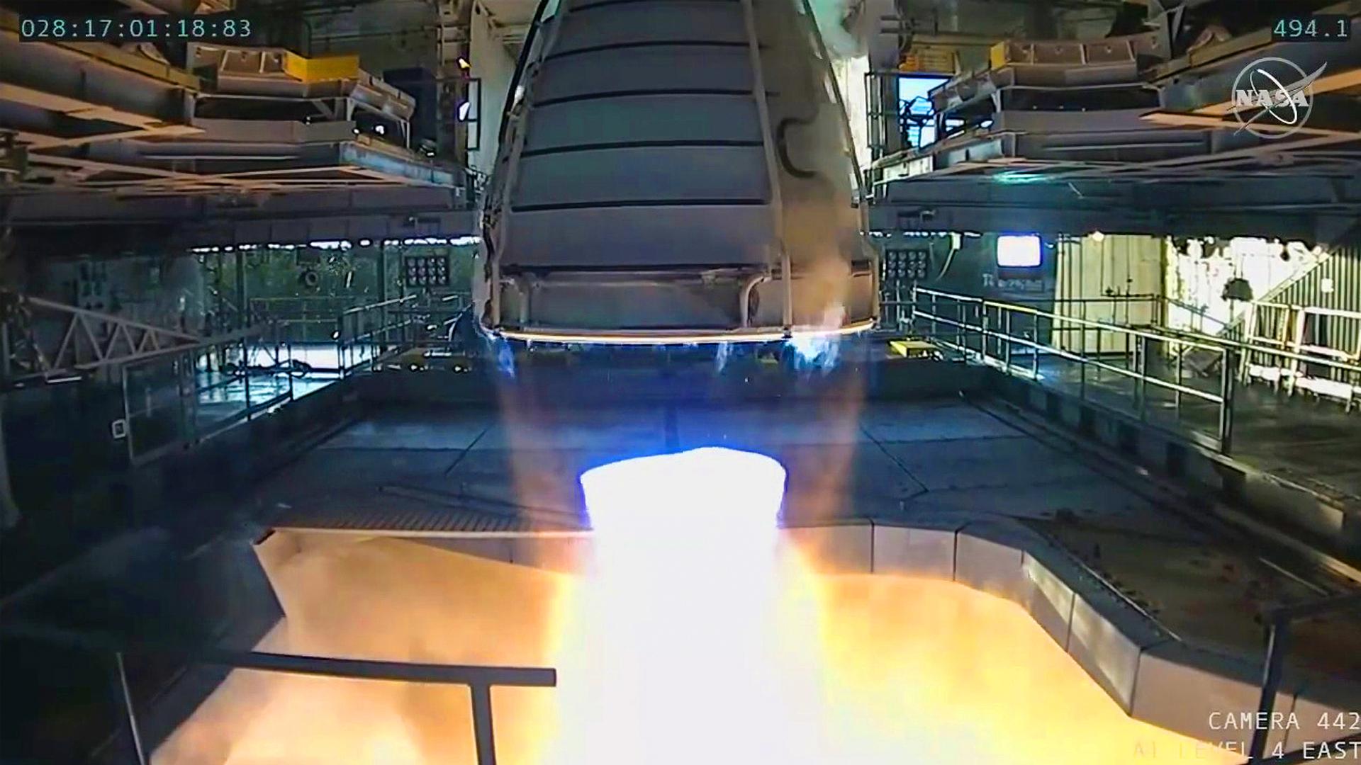VIDEO: NASA Tests Astonishing New Mars Shot Engine