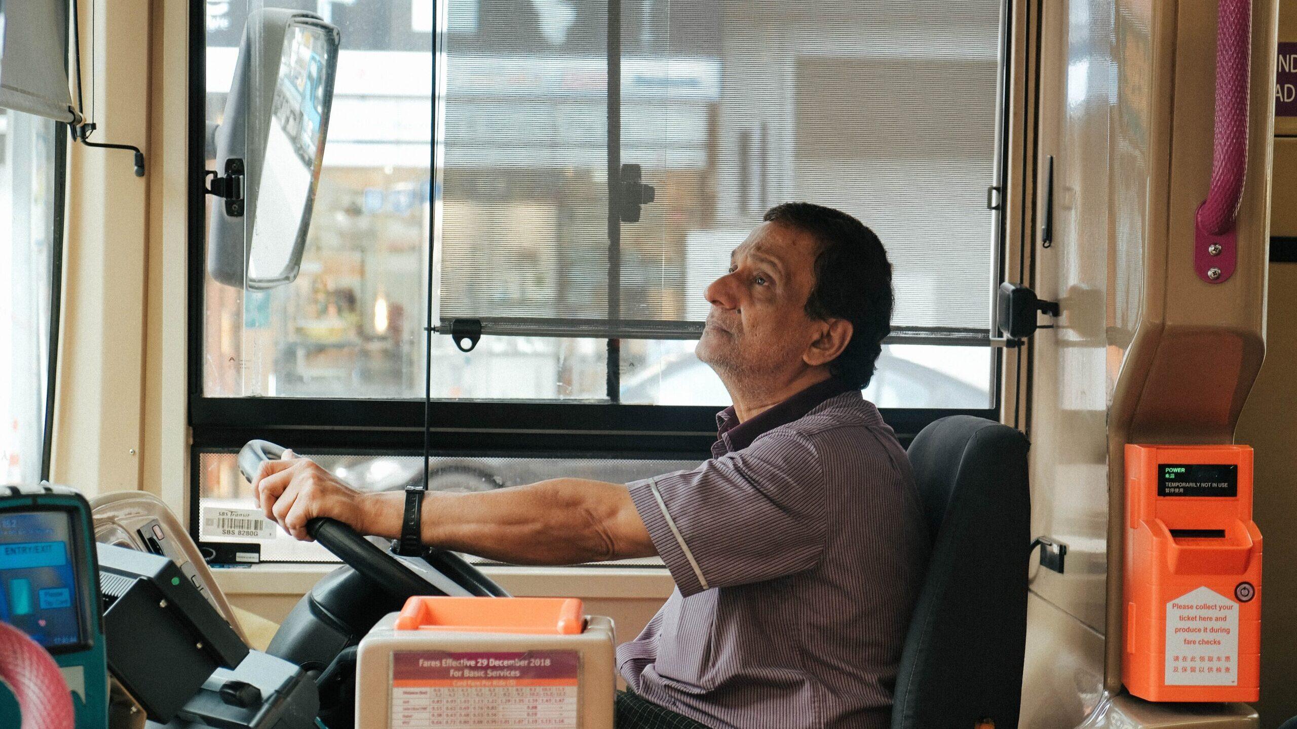 El trabajo de un camionero en México en tiempos de pandemia