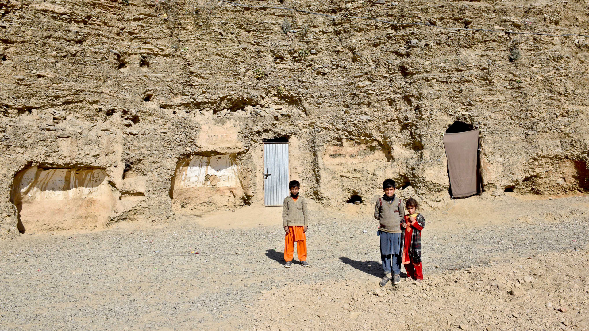 A Precarious Existence For The Cave Dwellers Of Torkham