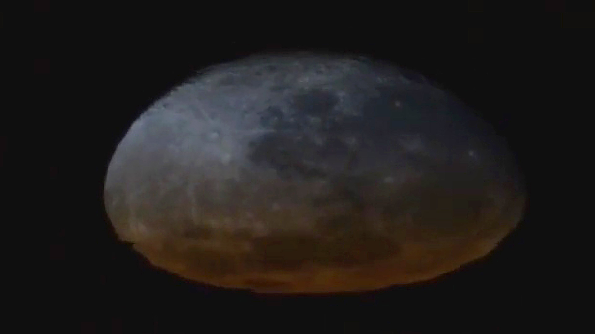 VIDEO: Rare Footage Of The Moon Melting Is Seen From Space