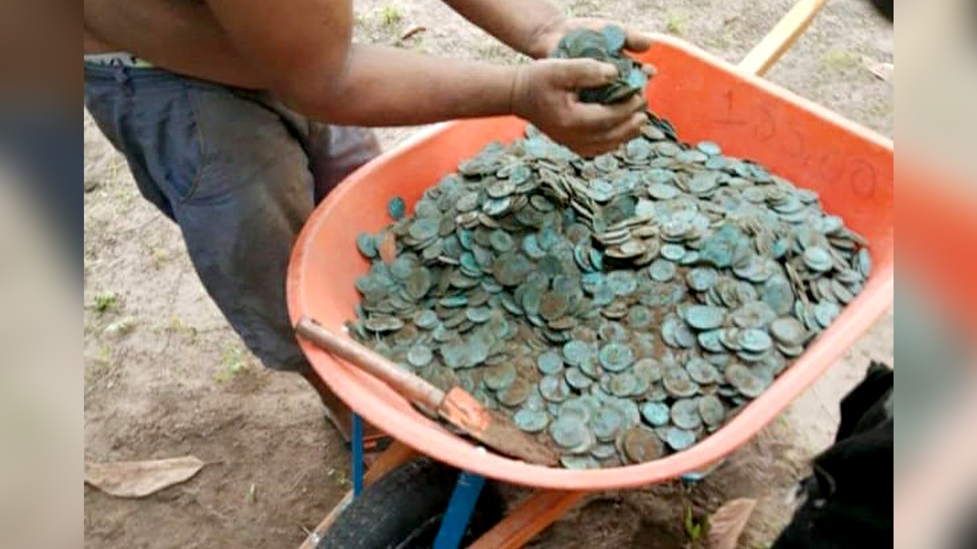 Old Age Pensioner: Senior Flees Thugs After Digging Up Treasure Trove of Ancient Coins