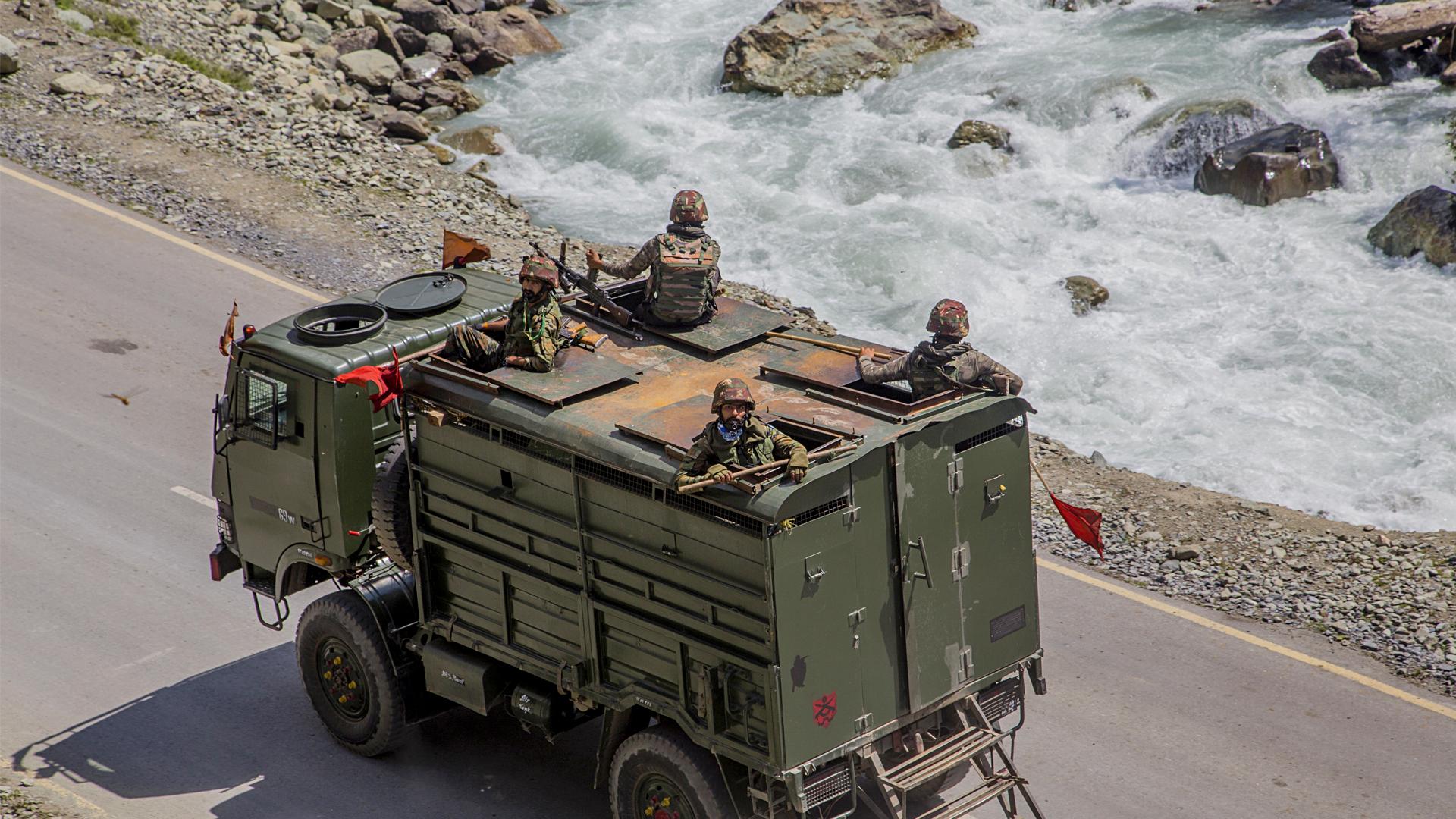 Indian, Chinese Troops Begin Disengaging At Pangong Lake