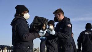 Weigh to Go: Coast Guard's Three Ton Cocaine Haul