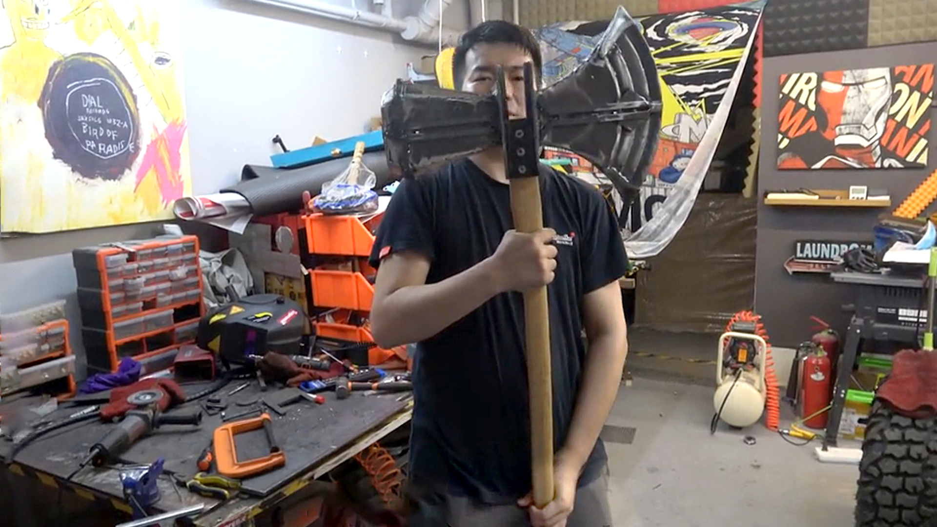 VIDEO: Thor is a Marvel: Superheo Fan Recreates Iconic Movie Weapons