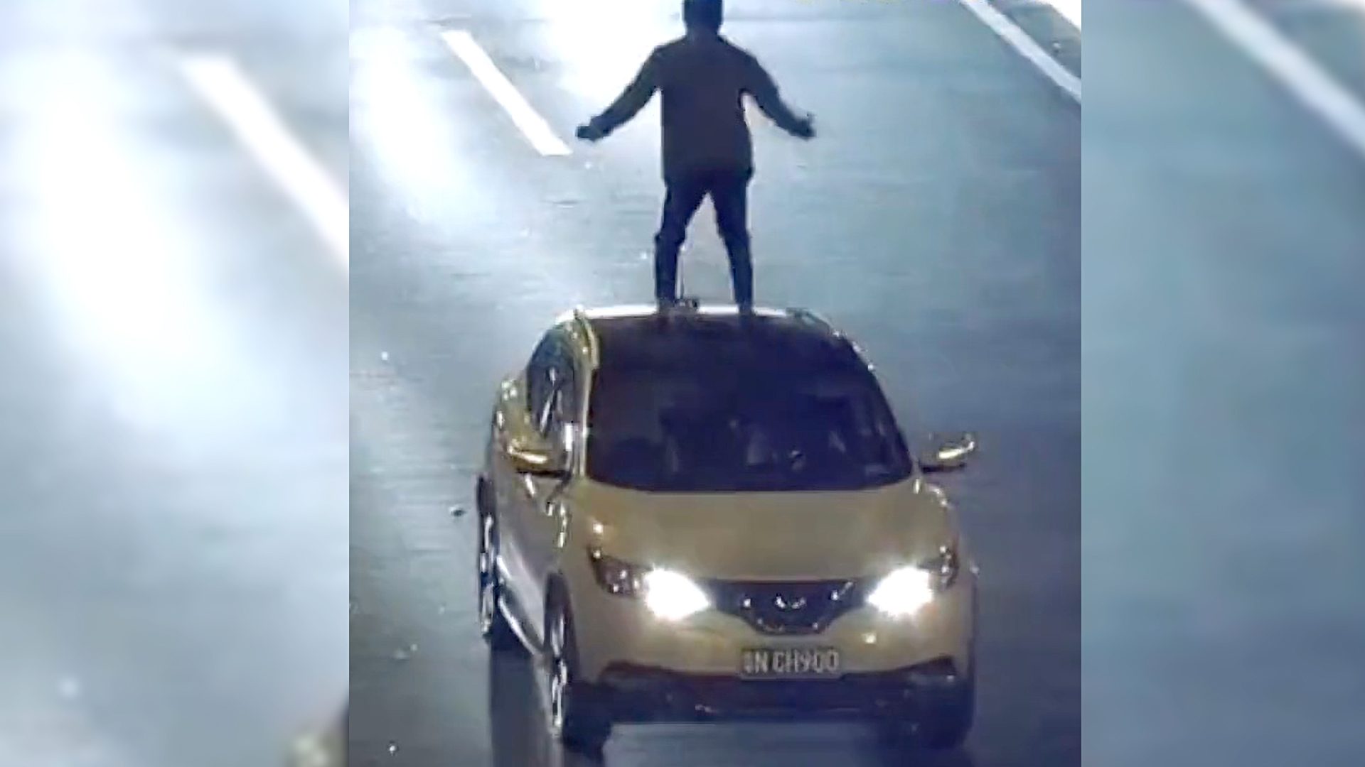 VIDEO: Angry Driver's Dance Stunt On 60 mph Highway