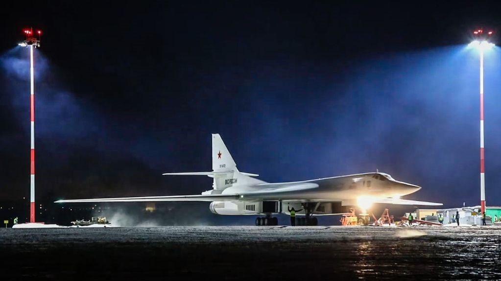 Superfast Russian Bombers In Show Of Strength Over Arctic