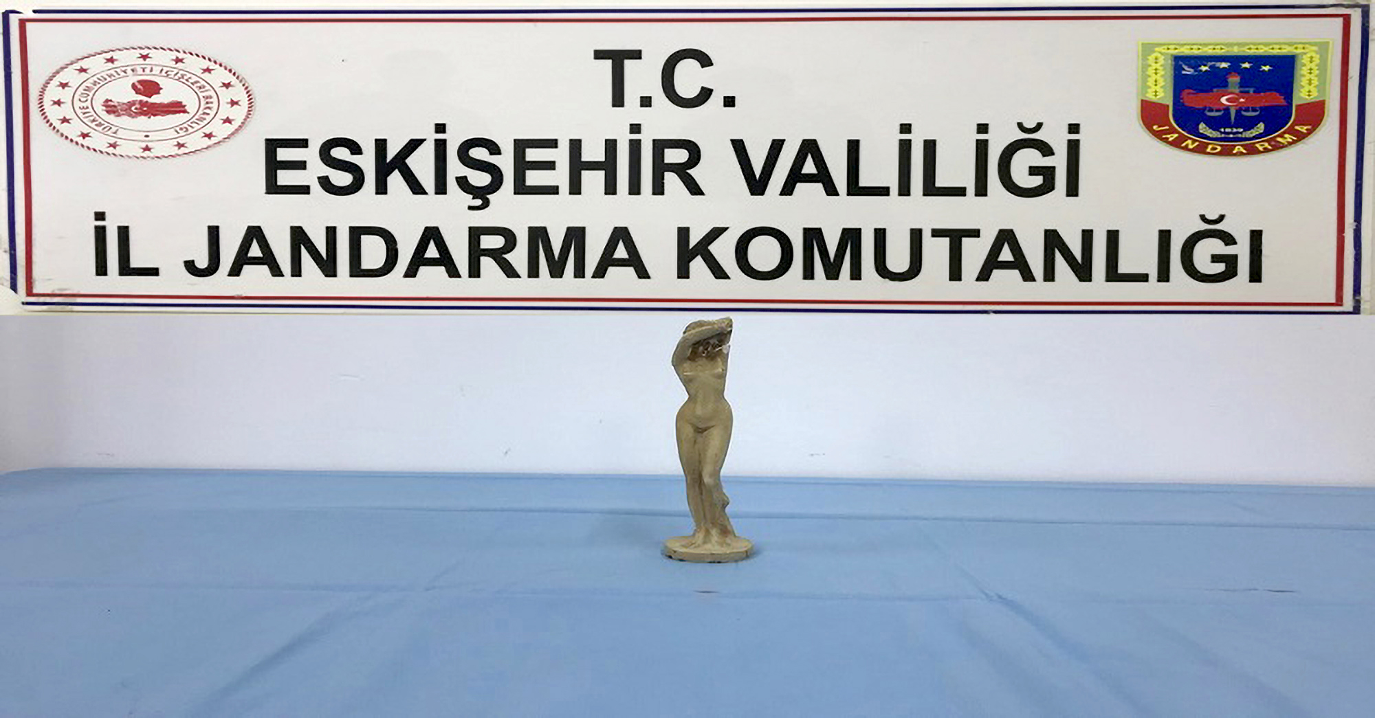 Turkish Cops Seize Roman Statue From Men Trying To Sell It Illegally