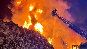 Leganes fire
