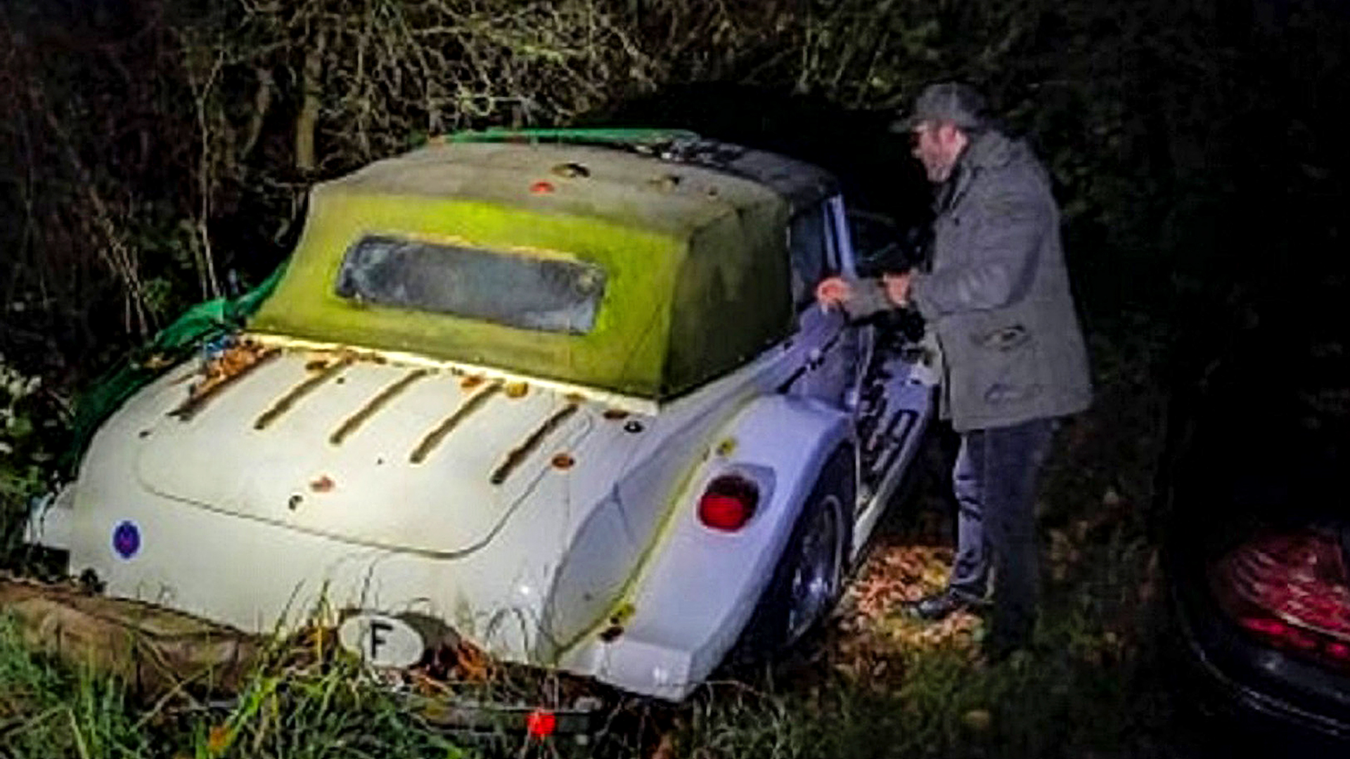 Rust In Peace: Rare Sports Car Rots Away While Family Row Over A Will