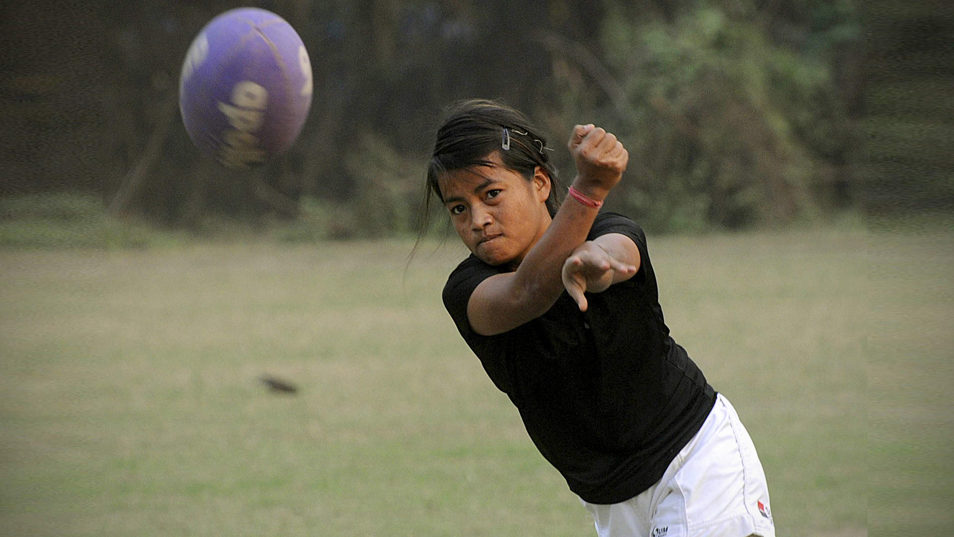 Scrum And Join Us: Women's Rugby Star Is Sport's New Poster Girl