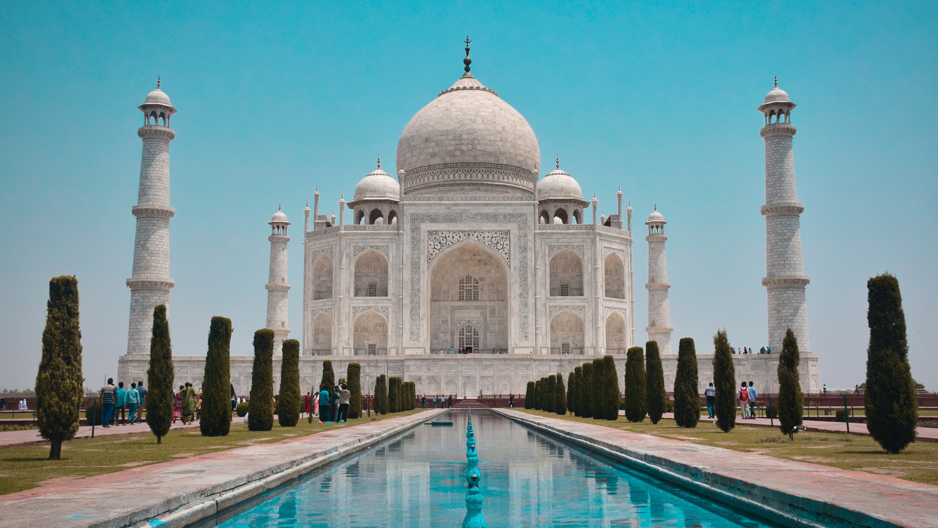 The Man Who's Building The Taj Mahal