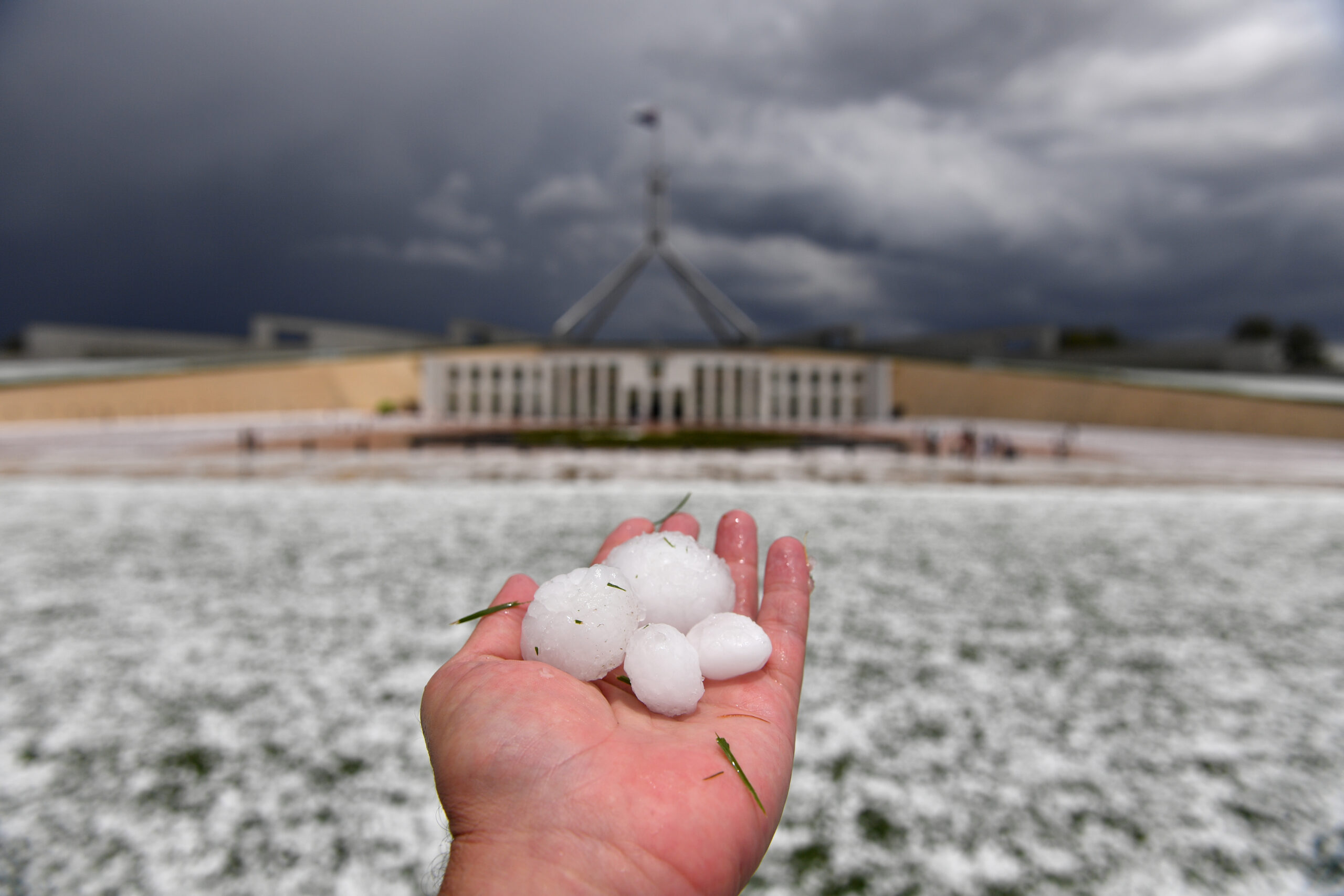 Climate Change To Bring More Hail To Australia