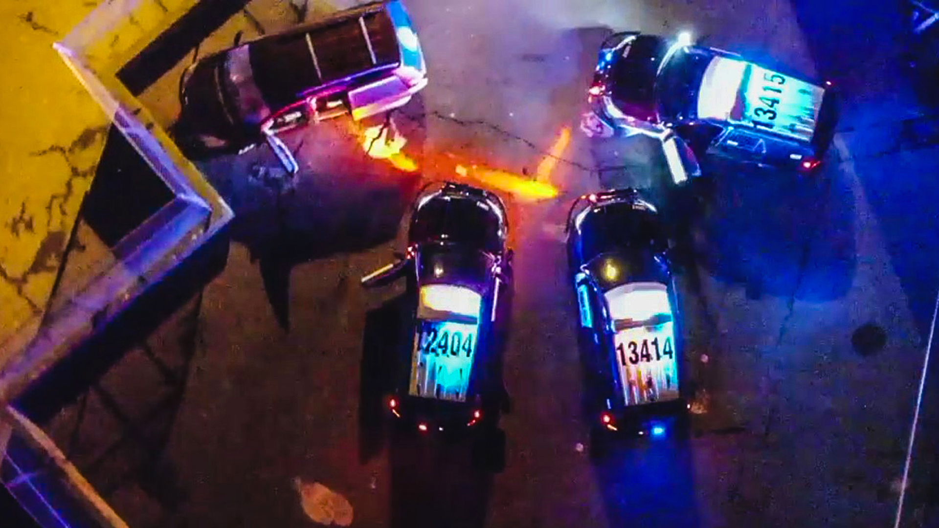 VIDEO: Backfired: Police Gun Down Man Who Torched Ex's Car