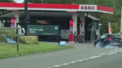 VIDEO: Reckless Driver Cuts Off Other Drivers, Makes Dangerous Entry Into Petrol Station