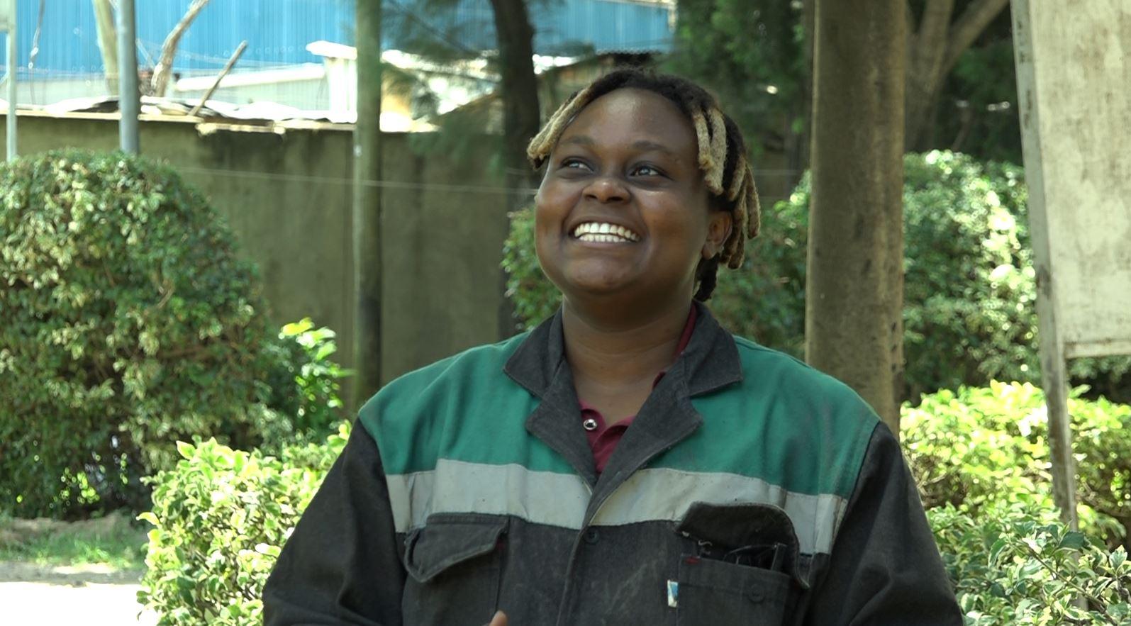Women Making History: Nzambi Matee – Saving The Environment One Brick At A Time